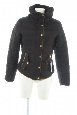 Vero Moda Winterjacke schwarz Steppmuster Casual-Look