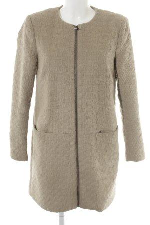 Vero Moda Wintermantel beige schlichter Stil