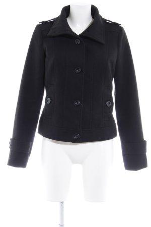 Vero Moda Wintermantel schwarz schlichter Stil