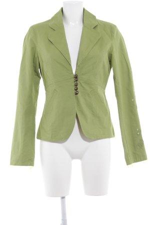 Vero Moda Wool Blazer green Sequin ornaments
