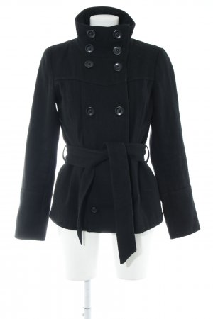 Vero Moda Wolljacke schwarz Casual-Look