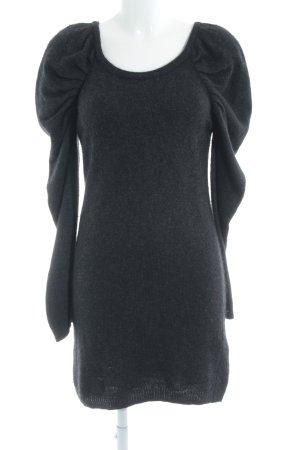 Vero Moda Vestido de lana gris antracita look casual