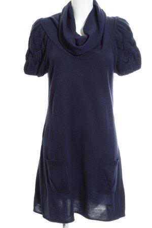 Vero Moda Wollkleid dunkelblau Casual-Look