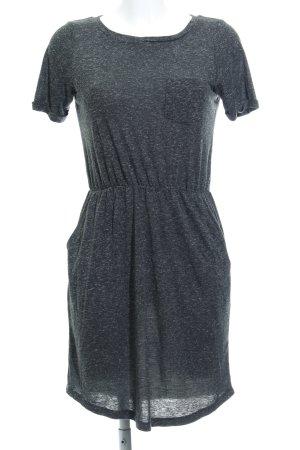 Vero Moda Robe en laine gris foncé moucheté style décontracté
