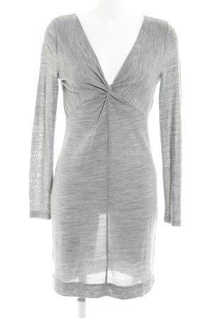 Vero Moda Robe en laine gris style décontracté
