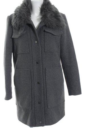 Vero Moda Manteau en laine gris style décontracté