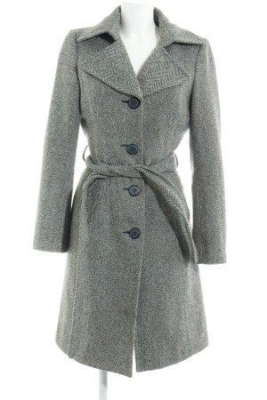 Vero Moda Cappotto in lana puntinato stile casual