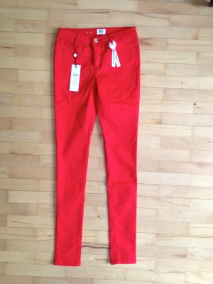 Vero Moda wonder Color Denim Jegging 26/34 neu rot