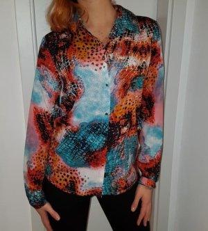 Vero Moda Glanzende blouse veelkleurig Polyester
