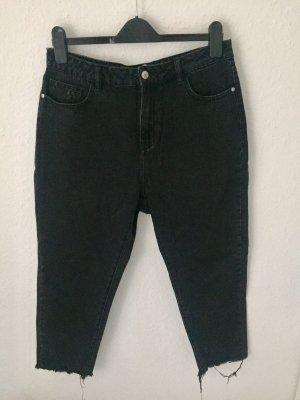 Vero Moda Jeans a vita alta nero-grigio