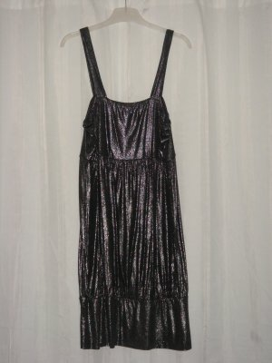 VeroModa Party Kleid blau silber 38