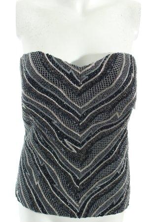 Veronika Breit Couture Haut type corsage multicolore élégant