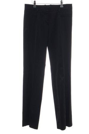 Versace Anzughose schwarz Business-Look