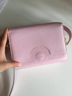 Gianni Versace Crossbody bag pink-black