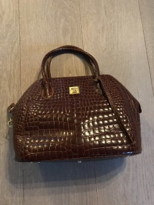Gianni Versace Carry Bag brown