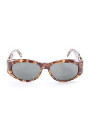 Versace Occhiale Stampa leopardata elegante