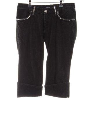 Versace Pantalone Capri nero stile casual