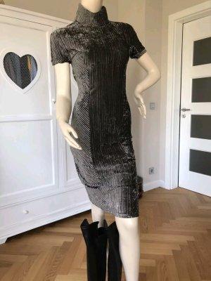 Versace Abito longuette grigio scuro-antracite
