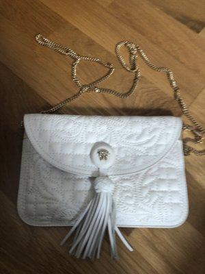 Versace clutch weiß