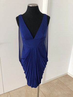 Versace Cocktail-Kleid Kornblumenblau