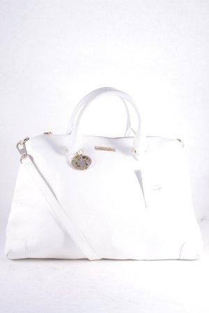 """Versace Collection Handtasche """"Tote Vitello Stampa Alce Bianco"""" weiß"""