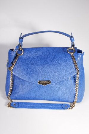 Versace Collection Handtasche Vitello Stampa Bufalo Bluette/Oro Chiaro II