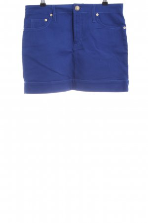 Versace Collection Jeansrock blau Casual-Look