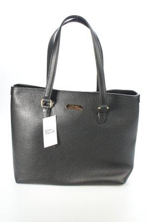 "Versace Collection Shopper ""Borsa Shopping Vitello Stampa Nero/Oro Chiaro"""