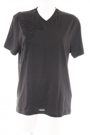 Versace Collection T-Shirt schwarz schlichter Stil