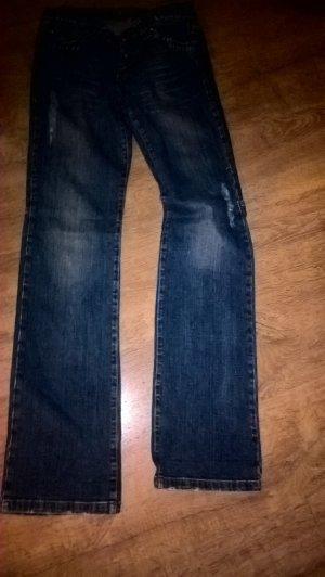Versace Jeans Couture Jeans baggy bleu foncé tissu mixte