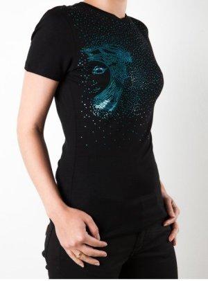 Versace Damen T-Shirt schwarz