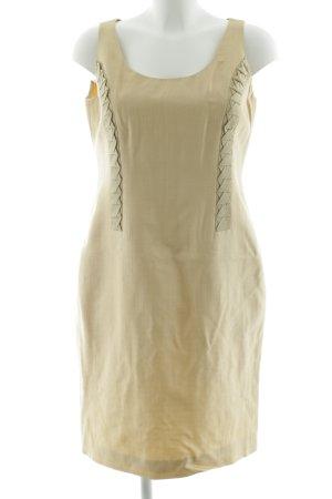 Versace Abito aderente crema stile semplice