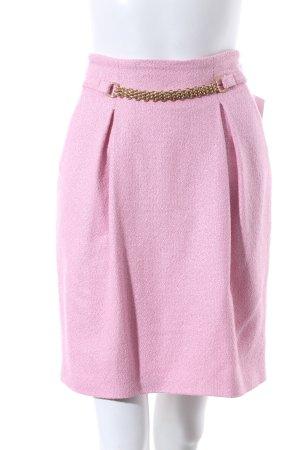 Versace Faltenrock rosa Elegant