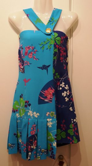 Versace for H&M Cruise Collection Designer Kleid Gr. S (36) Japan Origami Style
