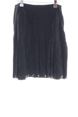 Versace for H&M Plooirok zwart casual uitstraling