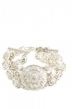 Versace for H&M Necklace silver-colored extravagant style