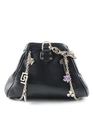 Versace for H&M Handtasche schwarz-goldfarben Beach-Look