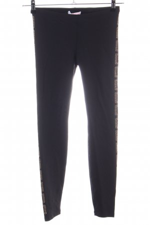 Versace for H&M Leggings nero stile casual