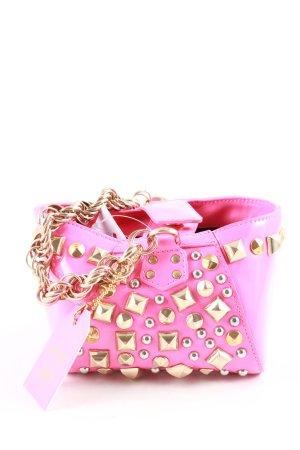 Versace for H&M Minitasche pink extravaganter Stil