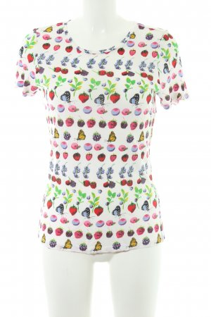 Versace for H&M T-Shirt florales Muster Street-Fashion-Look