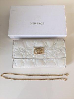 Versace Portafogli oro-bianco sporco