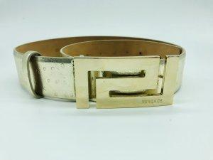 Versace Cintura di pelle oro