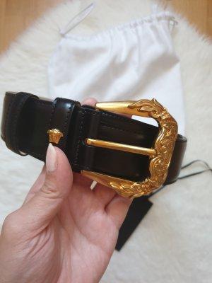 Versace Gürtel mit Barocco-Schnalle