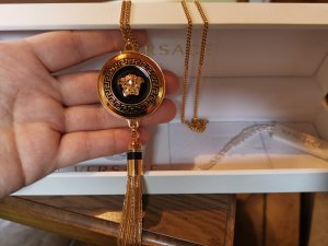 Versace Necklace black-gold-colored