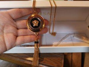 Versace Collana nero-oro