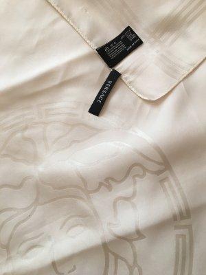 Versace Halstuch aus Seide cremefarben