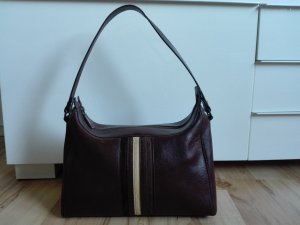 Versace Handtasche aus braunem Leder sehr guter Zustand