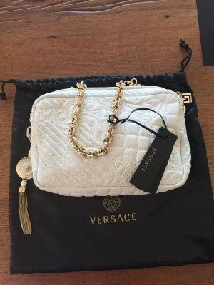 Versace Handtasche aus weißem Leder