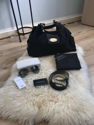 Versace Handtasche  schwarz