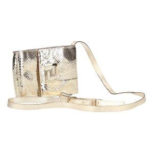 Versace Handtasche Umhängetasche Clutch Metallic